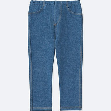 TODDLER LEGGINGS, BLUE, medium