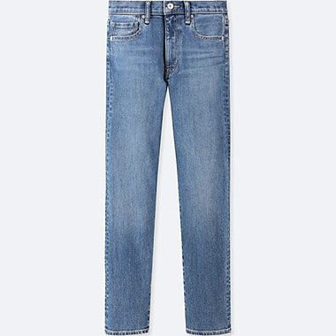 WOMEN HIGH RISE STRAIGHT JEANS