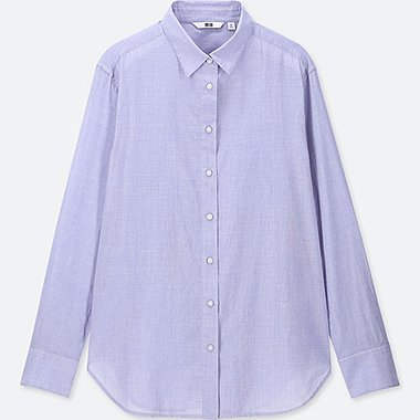 WOMEN SOFT COTTON LONG SLEEVED SHIRT