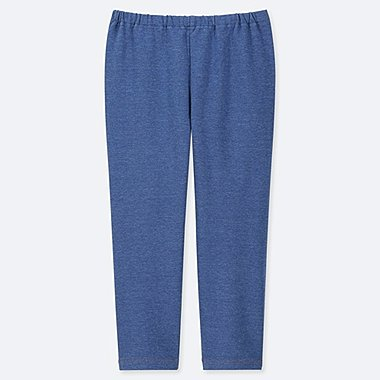 GIRLS CROPPED LEGGINGS, BLUE, medium