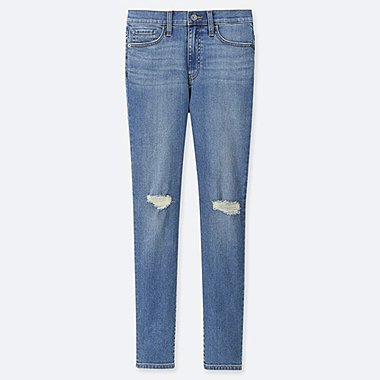 WOMEN CIGARETTE HIGH RISE SKINNY FIT JEANS