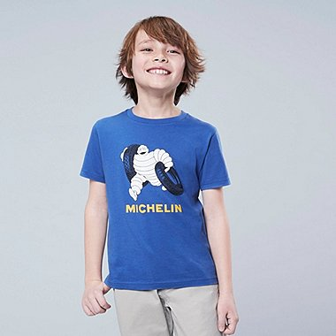 KIDS THE BRANDS MICHELIN GRAPHIC PRINT T-SHIRT