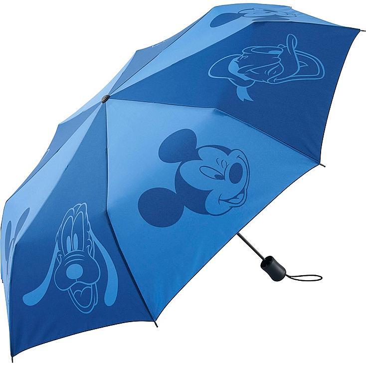 Men Disney Project Compact Umbrella, BLUE, large