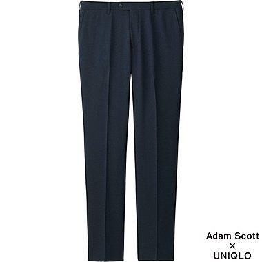 Mens Mens DRY Stretch Wool-Like Pants, BLUE, medium