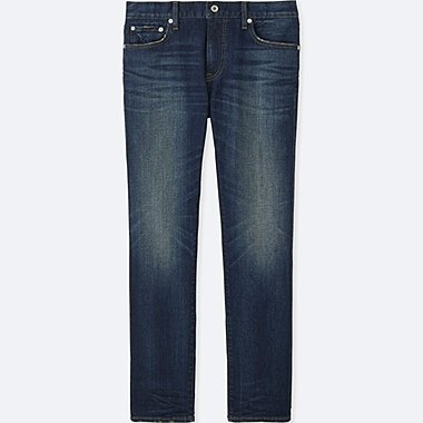 MEN Slim Fit Damaged Jeans