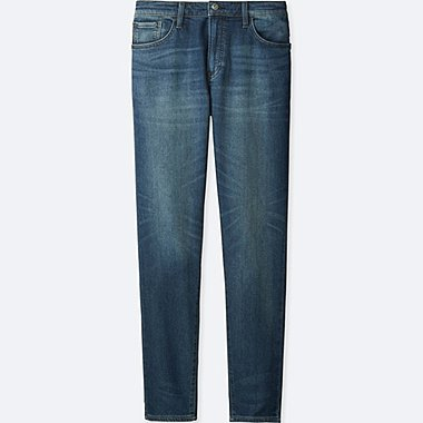 MEN JOGGER SLIM FIT JEANS, BLUE, medium