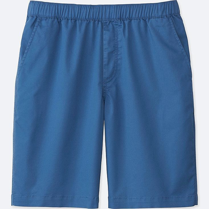 MEN EASY SHORTS, BLUE, large