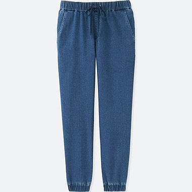 WOMEN Denim Jogger Pants