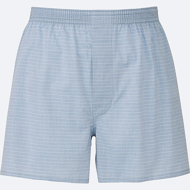 MEN Woven Striped Boxer Shorts