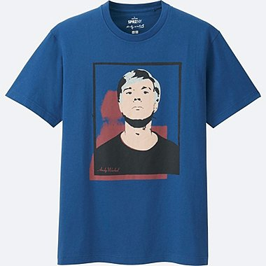 MEN SPRZ NY SHORT-SLEEVE GRAPHIC T-SHIRT (ANDY WARHOL), BLUE, medium