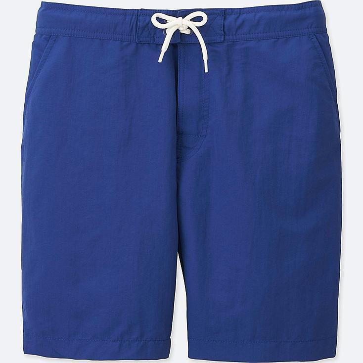 MEN SWIM ACTIVE SHORTS, BLUE, large