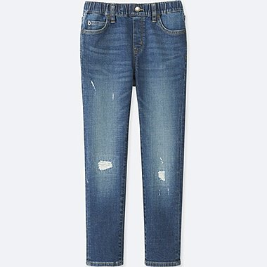 BOYS Denim Relaxed Slim Fit Trousers