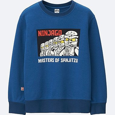 BOYS LEGO®NINJAGO SWEAT LONG SLEEVE PULLOVER, BLUE, medium