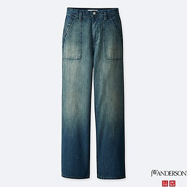WOMEN J.W.ANDERSON DENIM WORK TROUSERS