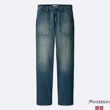 MEN J.W.ANDERSON DENIM WORK TROUSERS