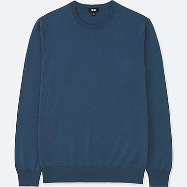 PULL EN MAILLE COL ROND HOMME