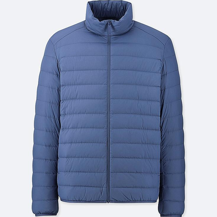 MEN ULTRA LIGHT DOWN JACKET, BLUE, large