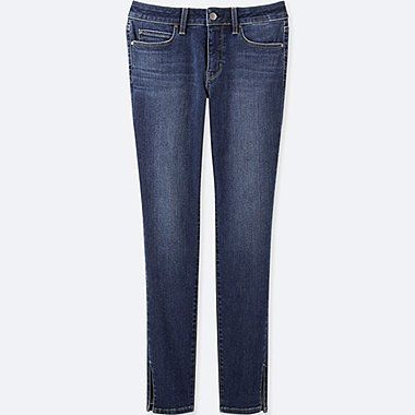WOMEN ULTRA STRETCH MID RISE SKINNY JEANS