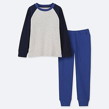 BOYS ULTRA STRETCH RAGLAN SWEAT LOUNGE SET