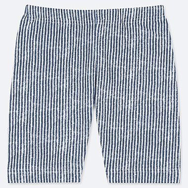 BABIES TODDLER DRY STRIPED HALF LENGTH LEGGINGS