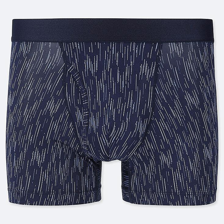 MEN AIRism BOXER BRIEFS, BLUE, large