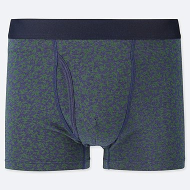 MEN SUPIMA COTTON FLORAL PRINT BOXER SHORTS