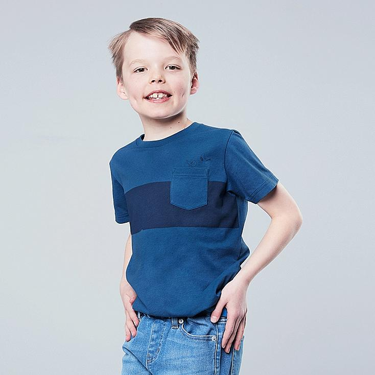 KIDS MICKEY BLUE UT (SHORT-SLEEVE GRAPHIC T-SHIRT), BLUE, large