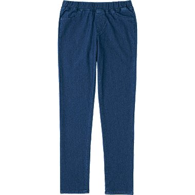 GIRLS DENIM EASY LEGGINGS, BLUE, medium