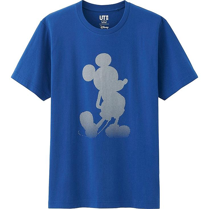 Men Disney Project Graphic T-Shirt, BLUE, large