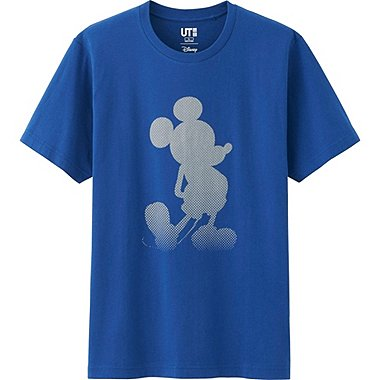 Men Disney Project Graphic T-Shirt, BLUE, medium