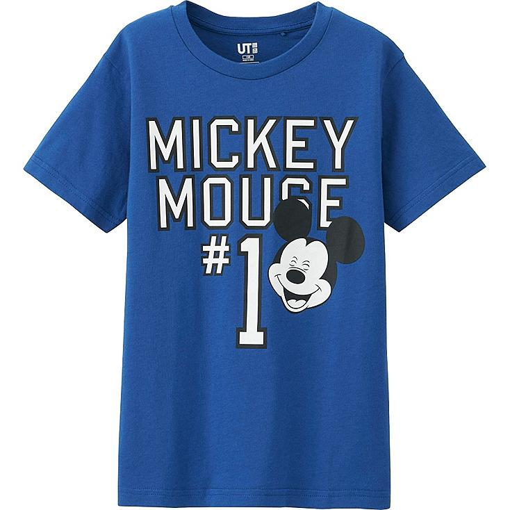 Boys Disney Project T-Shirt, BLUE, large