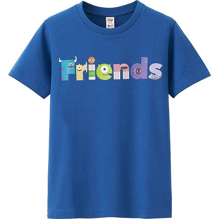 UTGP Pixar Graphic T-Shirt, BLUE, large