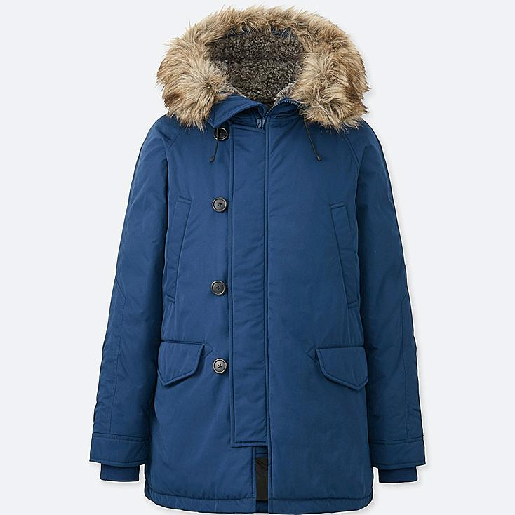 MEN WARM TECH DOWN COAT | UNIQLO US