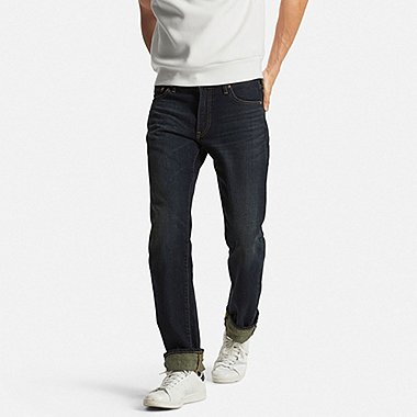 Mens Selvedge Regular Fit Jeans, BLUE, medium