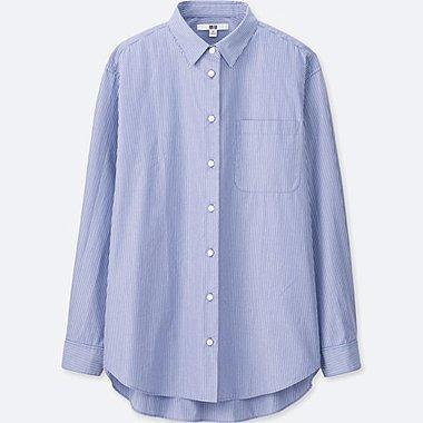 DAMEN Bluse aus extrafeiner Baumwolle