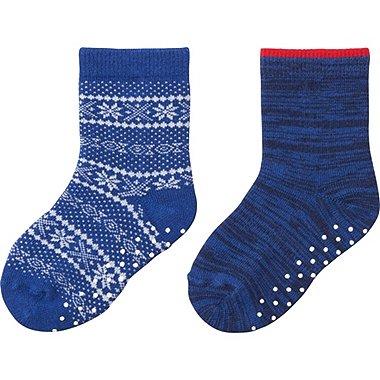 BABY SOCKS 2P, BLUE, medium