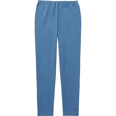 GIRLS LEGGINGS, BLUE, medium