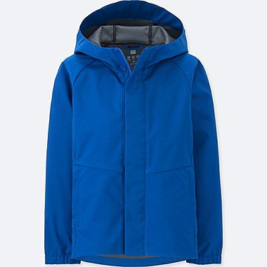 BOYS Blocktech Full Zip Parka ( raincoat )
