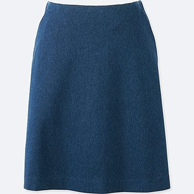 WOMEN High Waist Flare Mini Skirt