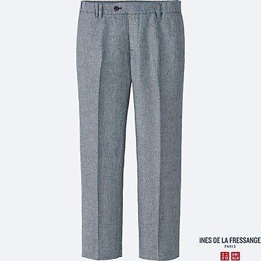 WOMEN INES Linen Relaxed Trousers