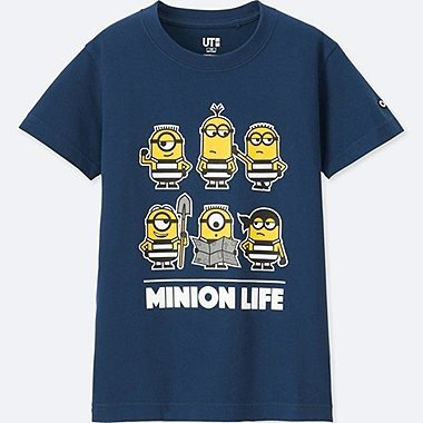 KIDS Despicable Me 3 SHORT SLEEVE GRAPHIC T-SHIRT, BLUE, medium