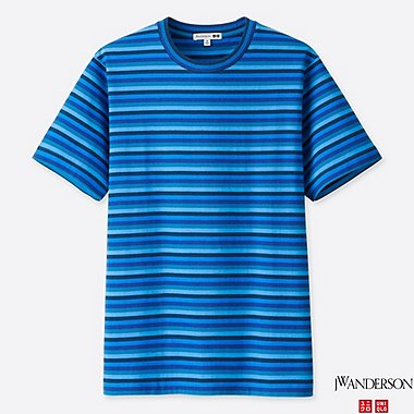 J.W.ANDERSON STRIPED SHORT SLEEVE T-SHIRT
