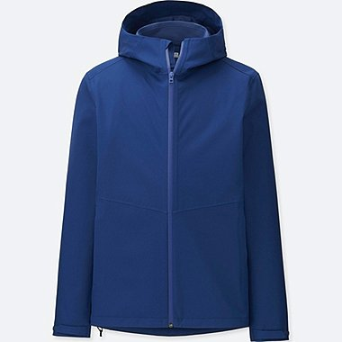 MEN BLOCKTECH PARKA, BLUE, medium
