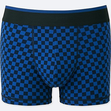 MEN SUPIMA® COTTON LOW-RISE BOXER BRIEFS, BLUE, medium