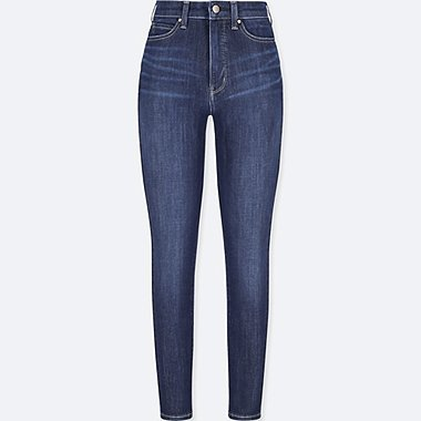 WOMEN ULTRA STRETCH HIGH RISE SKINNY ANKLE JEANS