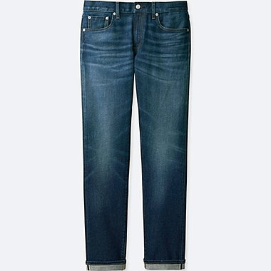 MEN SLIM FIT JEANS, BLUE, medium