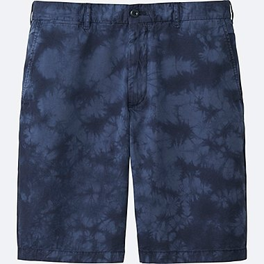 MEN CHINO SHORTS, BLUE, medium