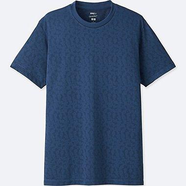MEN SPRZ NY DRY-EX SHORT-SLEEVE GRAPHIC T-SHIRT (FRANCOIS MORELLET), BLUE, medium