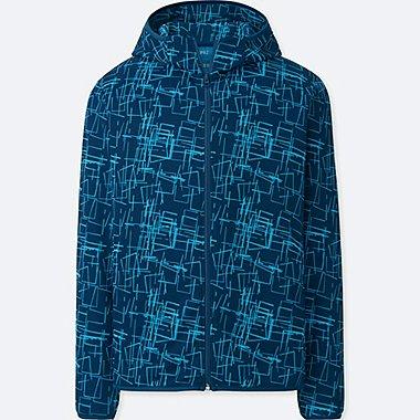 MEN SPRZ NY DRY-EX LONG-SLEEVE FULL-ZIP HOODIE (NIKO LUOMA), BLUE, medium
