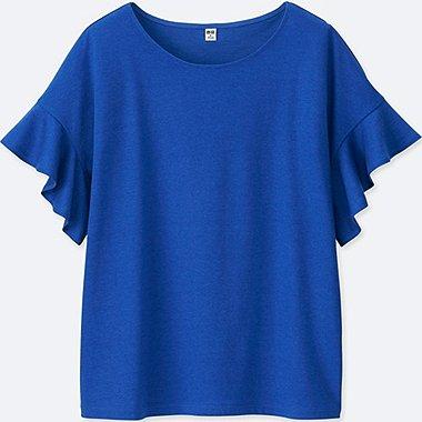 Damen T-Shirt (Voilant-Ärmel)